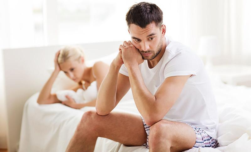 a hiányos erekció oka a férfiaknál