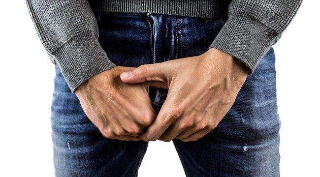 a pénisz gyorsan leesik és felemelkedik