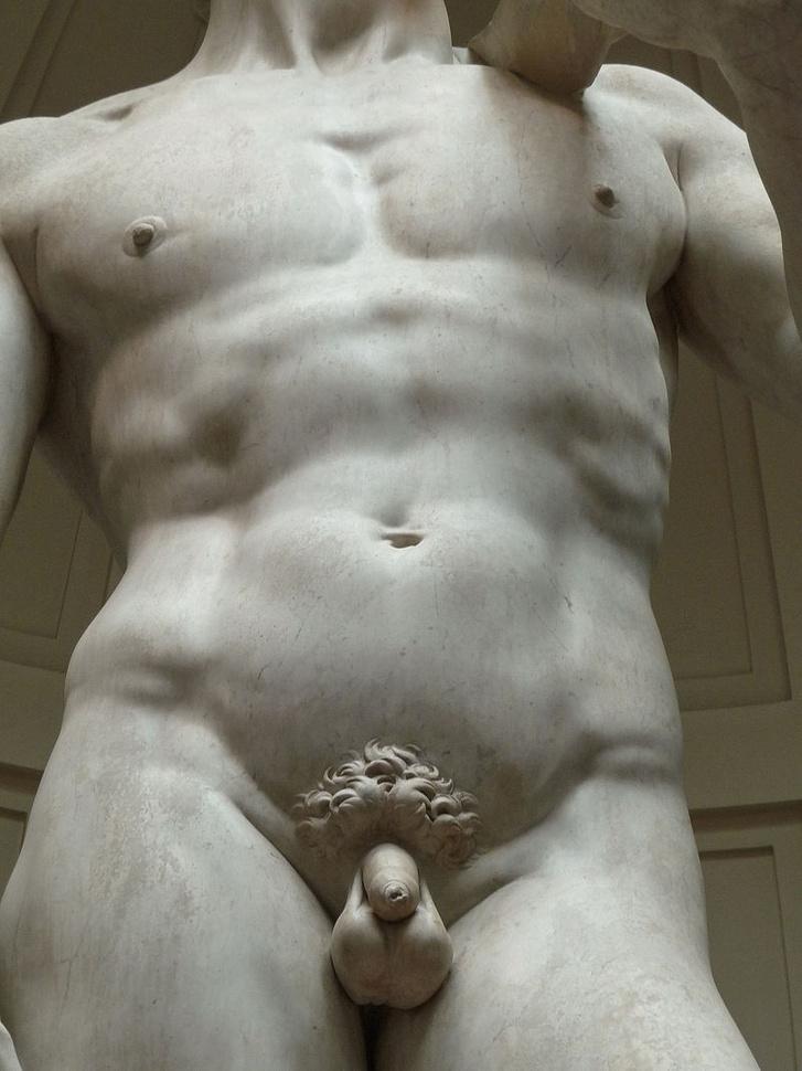 Miért olyan kicsi az ókori férfiszobrok pénisze?, Az ókor péniszei