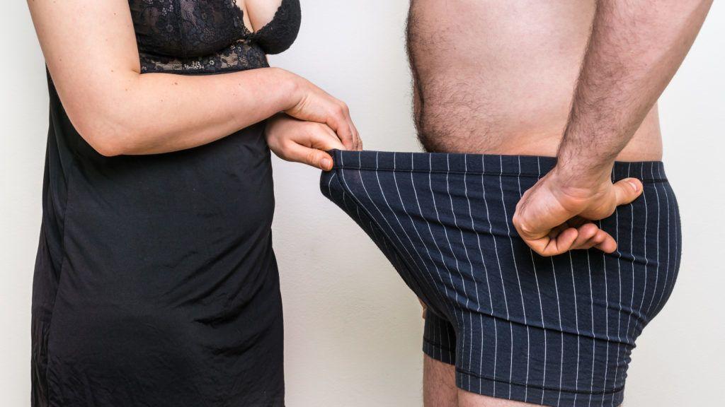 rejtett pénisz és merevedés erekció eltűnik a félelemtől