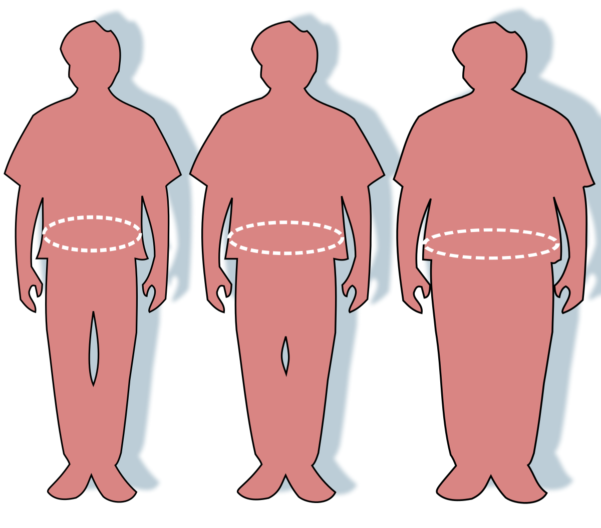 elhízott emberek péniszei
